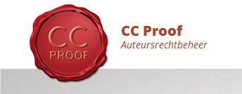 Dit is het loge van CC Proef auteursrechtbeheer