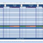 digitaalplanbord maatwerk met de zaterdag en zondag verborgen