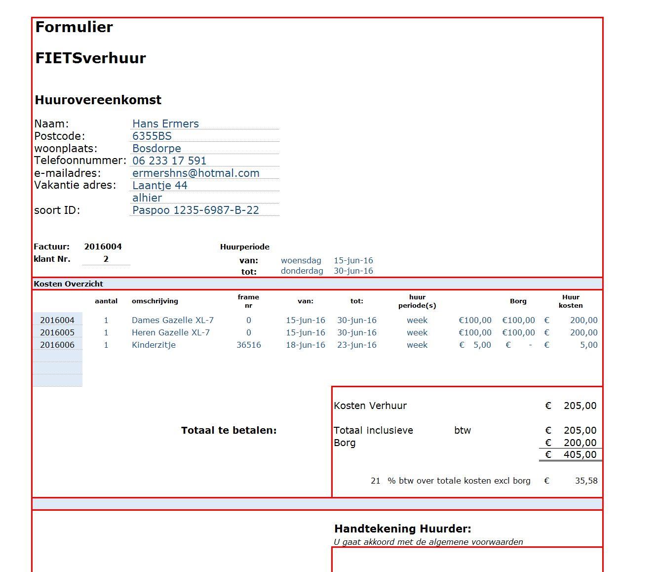 verhuur voorbeelden   excel spreadsheet.nl